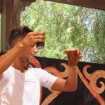 Démonstration thé à la menthe