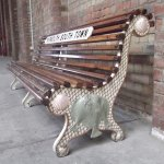 Fishy Bench from Yarmouth station