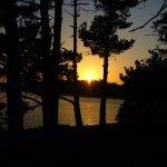 Coucher de soleil sur l'île de Berder