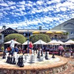 Chessboard on the piazza