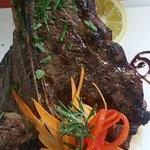 T- Bone Steaks at Bacchus Restaurant