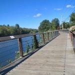 Bike trail in Collinsville