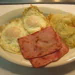 Breakfast is served all day at the Roadrunner Café.
