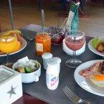 Petit déjeuner buffet