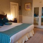 Churchill suite with fantastic views across to the promenade. Sublime nights sleep on this huge
