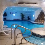 Pool and Sauna facilities for those who are water babies!