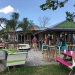 Tiki Bar and full Restaurant inside!