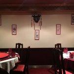 Part of the restaurant interiors