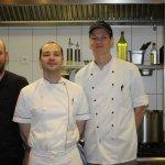 Unser Küchenchef  - Herr David Barth und sein Team