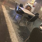 The furniture is all damaged and the place looks unloved  The service is very slow and the price