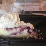 Raspberry white choc truffle