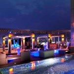 Dusk terrace