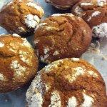 giant pumpkin muffins