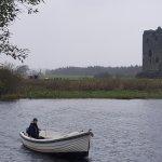 The boatman, Threave Castle