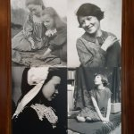 Photographs of local girls used in E A Hornel paintings
