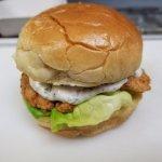 Chicken Burger, AMAZING!