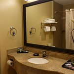 Bath vanity -- Best Western Bennington
