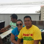 Jose grilling for Father's Day event