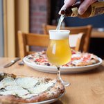 Genovese Pizza and Beer