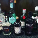 Gin selection