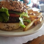 The highlight of the meal was the burger bun. Sea salt and caraway seeds on a bun was a hit.