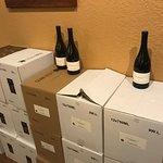 Bottled wine for sale
