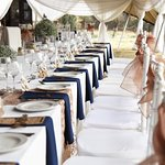 Wedding Setting: Credit Kelly Lombard Photography