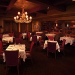 The Library Room is perfect for quiet and intimate dining.