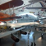 Panorama that includes the Concorde