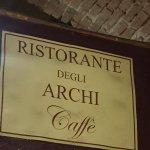 Foto de Ristorante Degli Archi