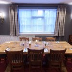 Our feature table for up to 10 guests.