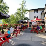 One of Canmore's finest patios