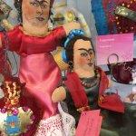 Frieda Kahlo dolls