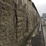 View down the length of the Wall