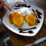Mango flambe- my friends dessert - delicious also- we shared!!!