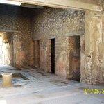 Pompeii Ruins Photo # 5: View of living area