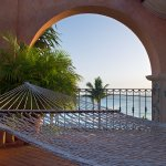 Relax in our Hammocks by the pool and watch the sunset