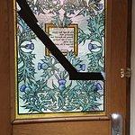 Cracked front door pane