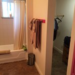 Bathroom and closet-clean