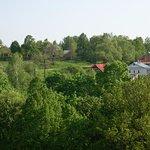 Вид на деревню Бехово