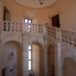 hall donnant vers les appartements