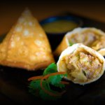 Vegetable Samosas from Tarka Indian Kitchen