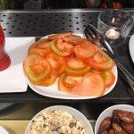 sad, not fresh breakfast buffet