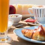 desayuno mediterraneo... puro sabor... puro color