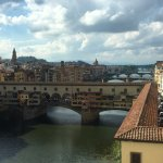 view from Uffizi gallery window