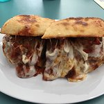 OMG!  Great meatball sandwich!