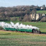 The K&ESR operates heritage trains from Tenterden to Bodiam