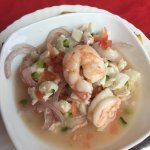 Dint try other places!  Dont waste your time. Ceviche here is a must!