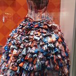 """Peyton Froula's """"Off to the Races"""" dress"""