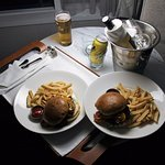 Room service burgers